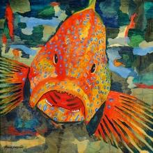 """The Big Fish 38""""w x 38""""h"""