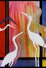 """Birds of Grace 30""""w x 38""""h"""