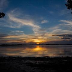 Fort DeSoto sunset. Florida. 2014.