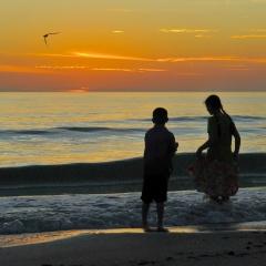End of Day. Redington Beach, Florida. 2012.