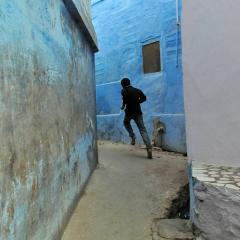 Escape. Jodhpur, India. 2014.